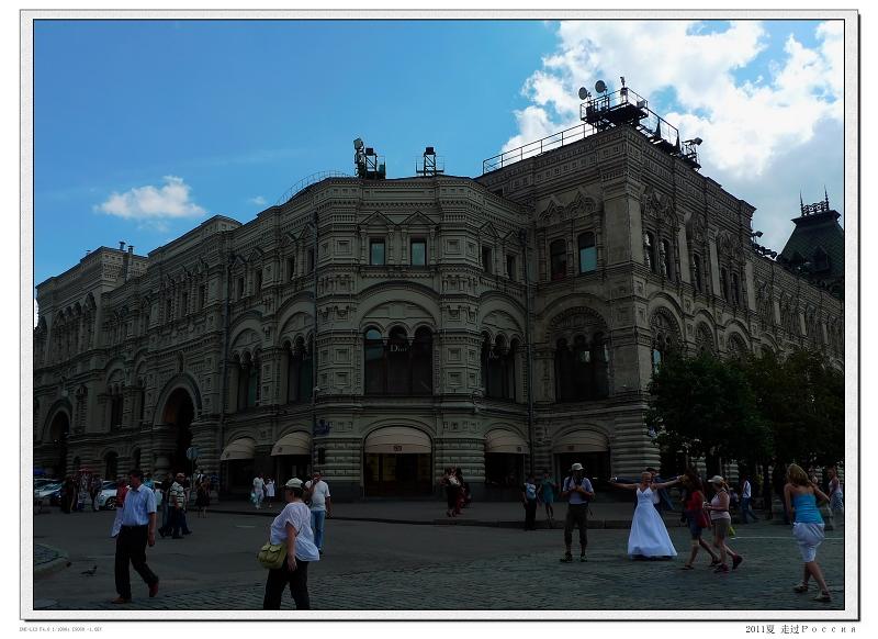 古姆/有一百多年历史的古姆百货公司,它也是俄罗斯最大的百货公司。...